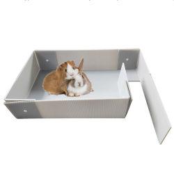 Пластиковой лентой из гофрированного картона пластмассовые/PP кроликов и Свинок коробки в качестве каркаса для ПЭТ