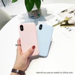 Motif de l'ondulation de chair chiffon ordinaire couvrir Téléphone Étui pour iPhone