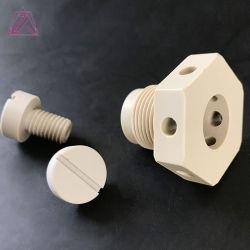 Lavorazione CNC plastica POM Nylon Peek UHMW parti lavorate
