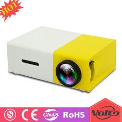 De beste LEIDENE HD van het Theater van het Huis 1080P Mini Draagbare Projector van Pico voor de Gift van de Jonge geitjes van de Familie
