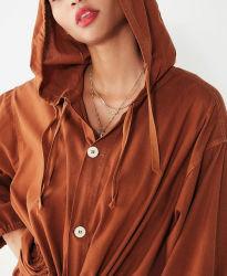 La mode Vintage Hoodie veste de coton