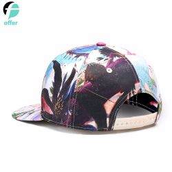 高品質カスタマイズ可能なプリント方法帽子の野球帽