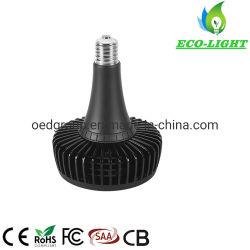60W UFO 로우 베이 램프 전구 블랙 마감 알루미늄 E39 E40 LED 하이 베이 램프 전구