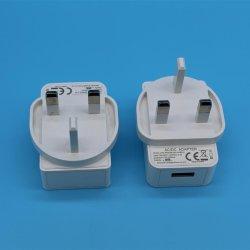 5V 1A UK BS Adaptador USB de 3 pinos com certificado LVD EMC