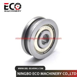 Ranurado individual o doble anillo exterior de los rodamientos de rodillos de plástico de los clientes OEM
