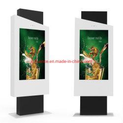 プレーヤーのデジタル表記を広告するOEM及びODM 55のインチ屋外LCD