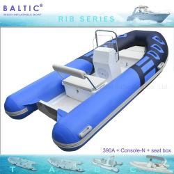 バルト海の肋骨によって390は6人PVC膨脹可能で堅いボート価格のボートがヨットに乗る