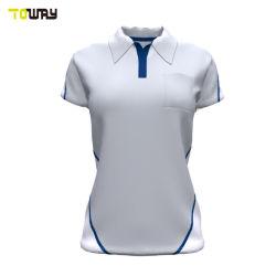 Camicia di polo bianca di nuovo disegno