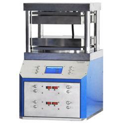 50t automático de alta calidad prensa caliente hidráulico Máquina para el Laboratorio de Investigación de Materiales