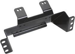 peça de estampagem de metal de precisão personalizada UTV Placa de Montagem do guincho para o ranger de Médio Porte