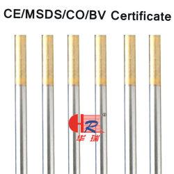 Fabbrica 2.4*175mm del Rod di saldatura dell'elettrodo del tungsteno Wl15
