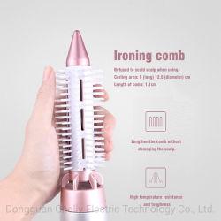 Buen precio un paso pelo Peine de iones negativos, pincel de aire húmedo o seco Rizador de pelo y peinados Tools