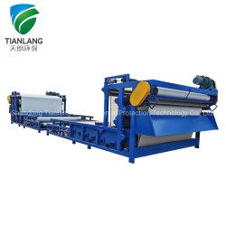 Het afdrukken van en het Verven van de Apparatuur van de Scheiding van de Vaste-vloeibare stof van de Machine van de Pers van de Filter van de Riem van de Riolering van de Fabriek