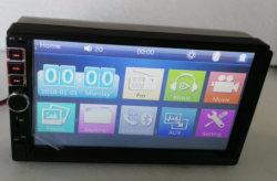 LÄRM zwei volles Screen-Auto-Audiospieler-intelligentes Spiegel-Link-Stahlrad-Steuerfunktion
