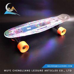 100W Max. El kilometraje 15 km depende de LED de conducción eléctrica barata Skateboard