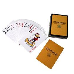 カードを防水のポーカーする注文の印刷された安い価格橋のサイズ ゲーム用