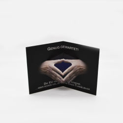 Cartão de Crédito de plástico de impressão de tamanho personalizado Cartão de Teste do Sensor de UV