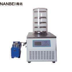 Mini laboratório Frutas Farmacêutica Medicina congelamento a Vácuo Máquina Secadora Lyophilizer