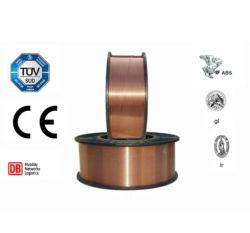 منتج لحام سلك لحام ثنائي أكسيد الكربون من MIG بطول 1.2 مم 15 كجم/ABS مع مطلي بالنحاس