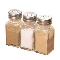 100 мл площадь стекла Spice соль перец чили порошок кувшин блендера с крышкой вибрационного сита