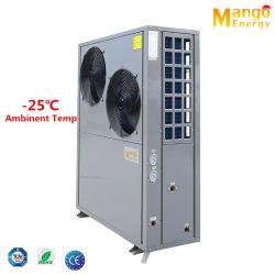 -25 درجة حرارة ملائمة مضخة حرارة منخفضة لهواء Evi درجة حرارة منخفضة (CE TUV RoHS) مع ضاغط كوبلاند