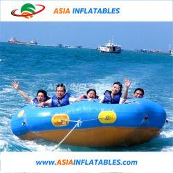 4명의 사람을%s 팽창식 도넛 배, Inflatabel Towable 물 도넛 배