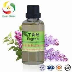 CAS n° 97-53-0 Eugenol natural essencial metil Eugenol Óleo Fragrância de sabor de cuidados da pele Cosméticos Perfume diariamente Fábrica Química Farmacêutica Extra