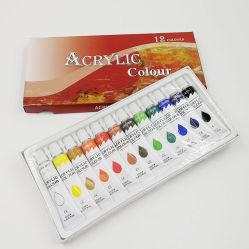 Set di vernici acriliche 12 ml 12 colore non tossico