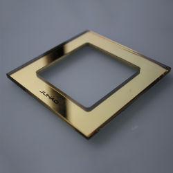 電気壁ライトソケットのトップ・カバーのガラス接触スイッチContorlガラスのパネル