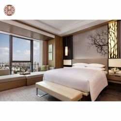 hecho personalizado Panel MDF barato Hotel Apartamento Muebles de Dormitorio