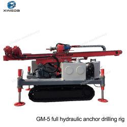 GM-5 Crawler de haute qualité hydraulique machine de forage d'ancrage pour la vente
