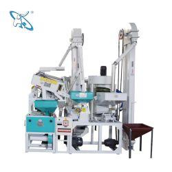 ماكينة الأرز الأوتوماتيكية كاملة 10-100 الأرز المحل المتكاملة آلة التفريز