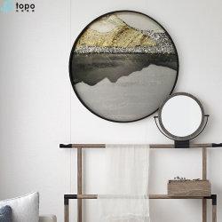 500mm Cercle paysage décoratifs Glass-Painting (MR-YB6-2051C)