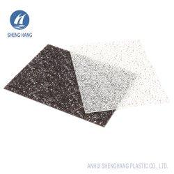 Brons/het Blauwe/Oranje Glanzende van het Polycarbonaat Blad van de PC- Diamant