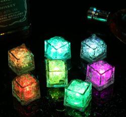 防水 LED バーフラッシュアイスキューブ蛍光ブロック