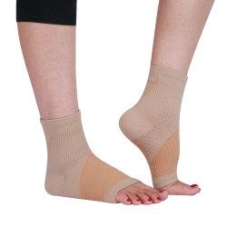 Produtos OEM personalizados barato elevado de Nylon respirável Sport Suporte de tornozelo tornozelo o esteio de tornozelo da Luva