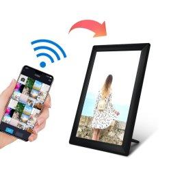 10インチのデジタル写真フレームを共有する卸し売りWiFiの雲
