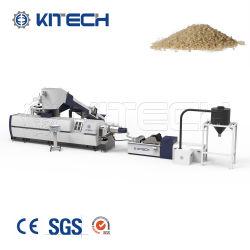 Película PE PP saco de tecido de reciclagem dos resíduos de Pelotização Máquina de pellets de plástico macio