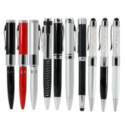 金属球のペンのディスクUSBのフラッシュ駆動機構2.0 64GB 32GBのメモリペン駆動機構のペンの棒のフラッシュUSB駆動機構