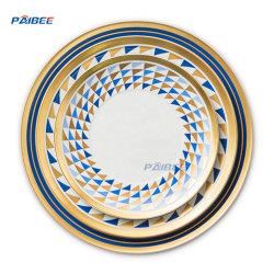 Paibee 12'' de la placa de cargador de Plato Postre pan caliente Venta de placa placa placa baratos