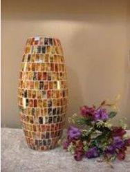 Home Decoratie Cadeau Glaswerk Kaarsenhouder Mozaïsche Kaarsenpotten Mozaïek Kaarshouders met of zonder was