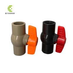 El chino DN40 Los componentes de válvulas de bola de tuberías de PVC