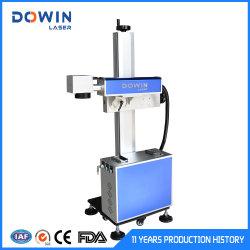 중국 30W 플라잉 파이버 레이저 마킹 머신 마크 메탈 병 높은 효율의 코드 생산 날짜