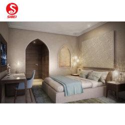 5 Star Arábia Shaza Makka Hotel Design Como Cama King Hotel Madeira moderna chinesa Home Quarto Sala Sofá Móveis