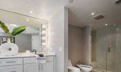 Деревянный шкаф для ванной комнаты в стиле старинных Современные зеркала в противосолнечном козырьке