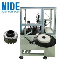 Автоматическая вставка бумаги статора Outslot наружный ротор короткого замыкания папку бумаги и вставив машины