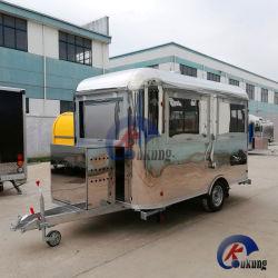 Camion dell'alimento di approvvigionamento dell'acciaio inossidabile completamente di Ukung