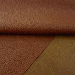 Rough Litchi Grain assentos de couro de PVC