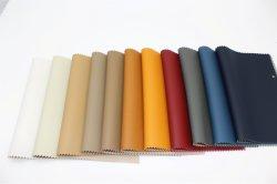 PVC imitación artificial sintético cuero tapizado de cuero de PU muebles sofás de cuero