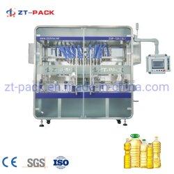 Linear automática da pressão do pistão plástico líquido comestíveis do vaso de óleo de lubrificação de enchimento do depósito de equipamento de máquinas